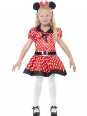 Childs Cute Mouse Girls Costume